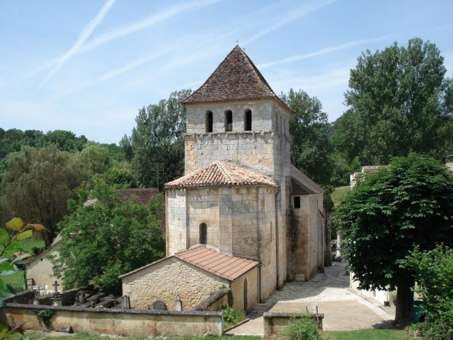Queyssac church