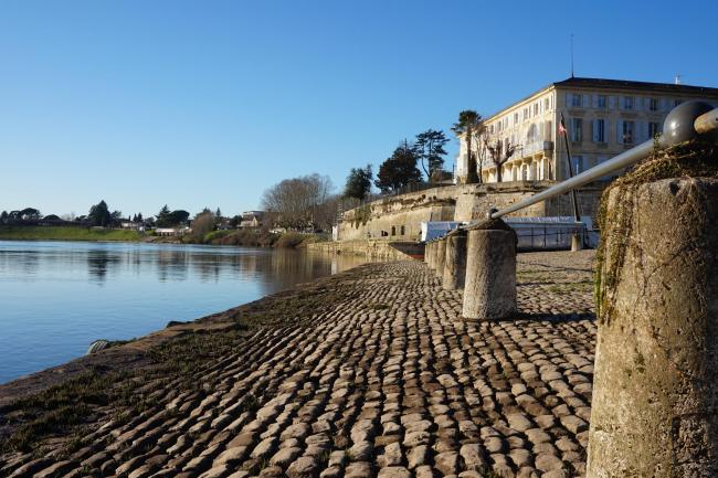The port of Bergerac