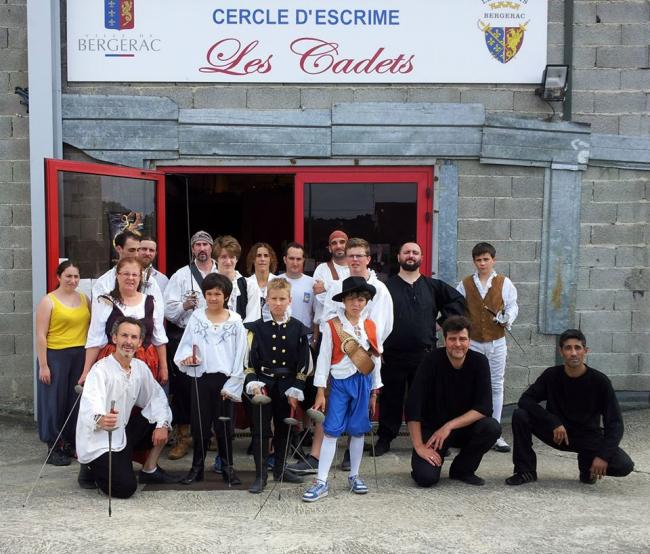 Annual Fencing Competition La Botte de Cyrano