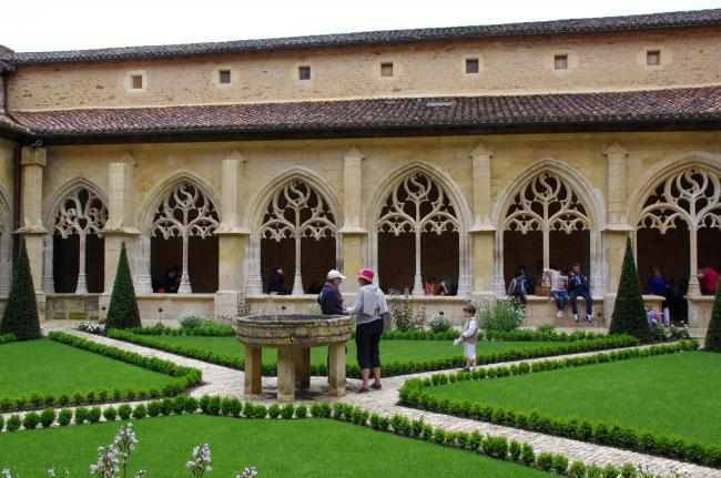 The cloister of Cadouin