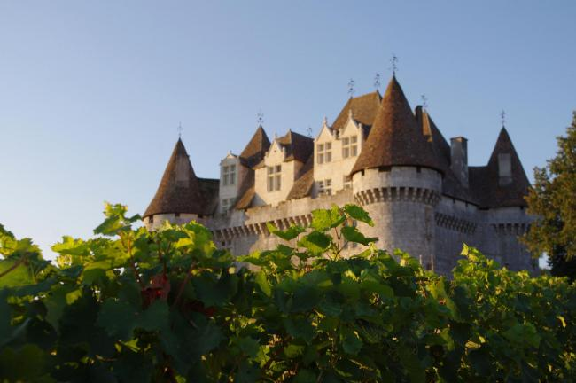 The castle of Monbazillac