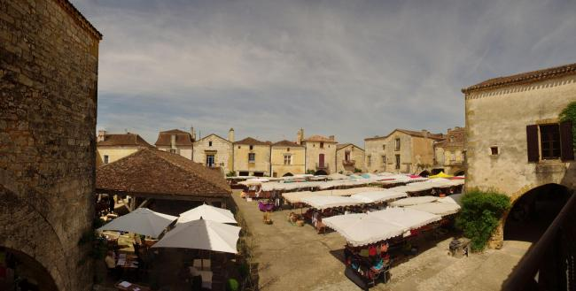 The bastide of Monpazier
