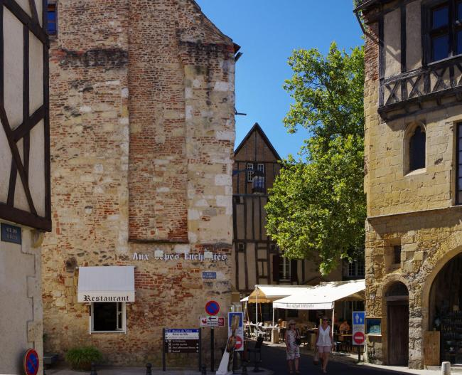 The old town of Bergerac