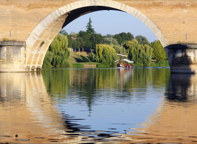 The old bridge of Bergerac