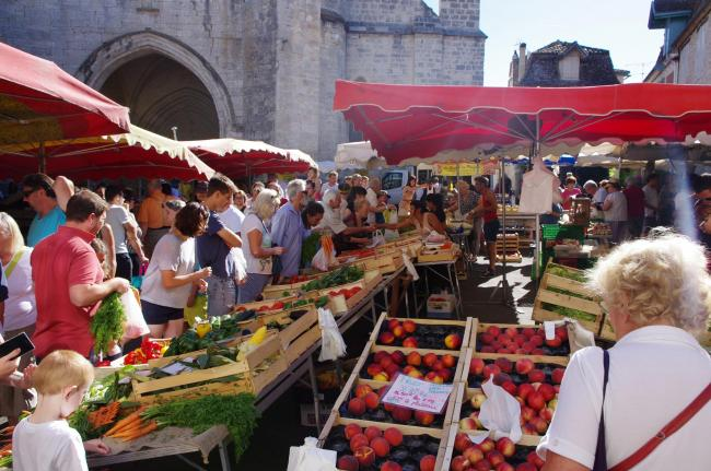 Market in Issigeac