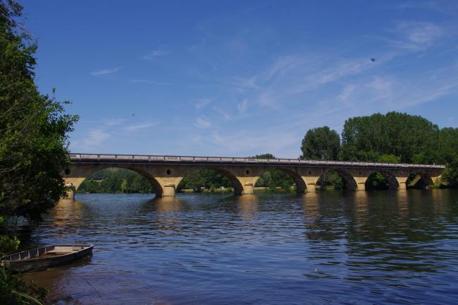 River Dordogne in Trémolat