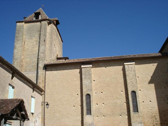 The church dedicated to Saint Nicolas