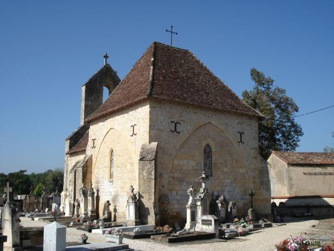 The chapel dedicated to Saint Hilaire