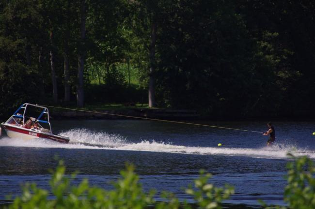 De internationale watersportbasis