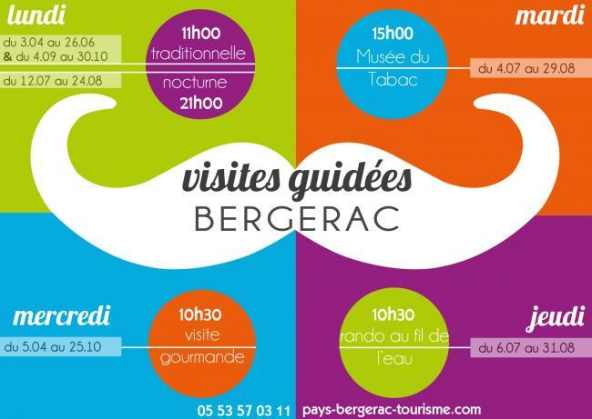 Visites guid es pays de bergerac tourisme - Office du tourisme bergerac ...